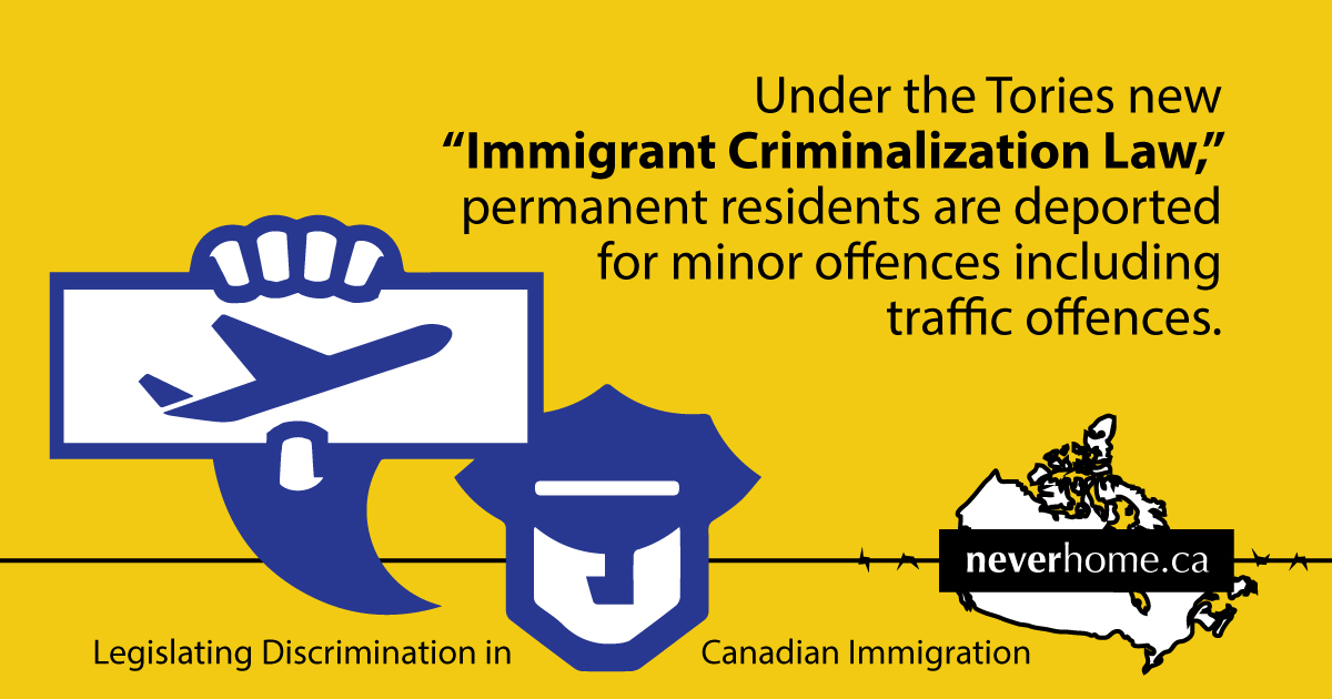 Canadian government deported an average of 35 people per day over the past nine years, including to countries with moratoriums on deportation.